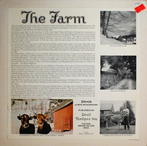 the farm album cover