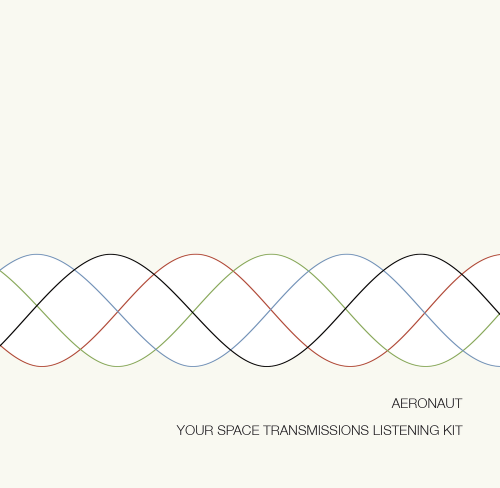 aeronaut - your space transmissions listening kit album cover