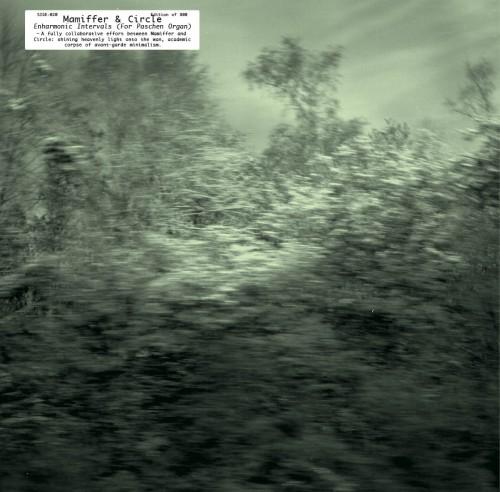 mamiffer & circle - enharmonic intervals album cover