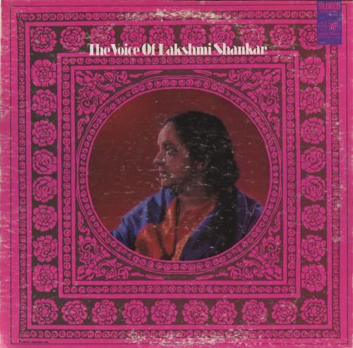 lakshmi shankar - the voice of album cover medium