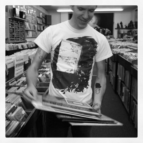 me at the record exchange