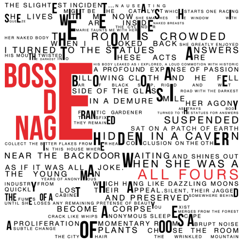 bosse-de-nage - all fours album cover