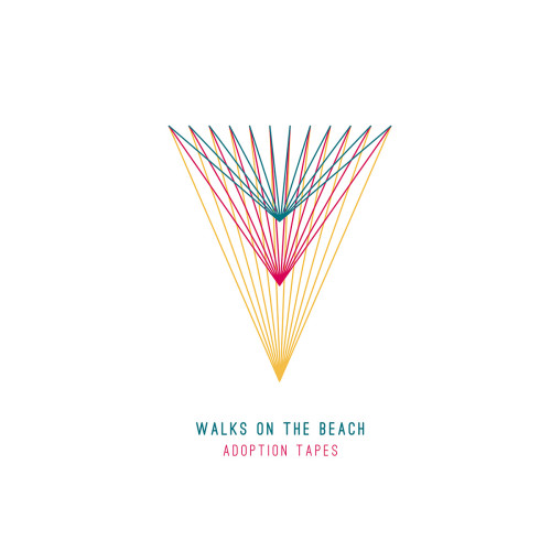 walks on the beach - adoption tapes album cover