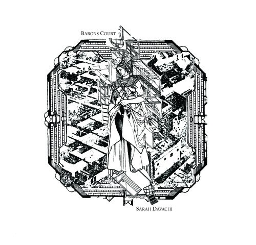 sarah davachi - barons court album cover