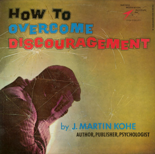 how to overcome discouragement album cover