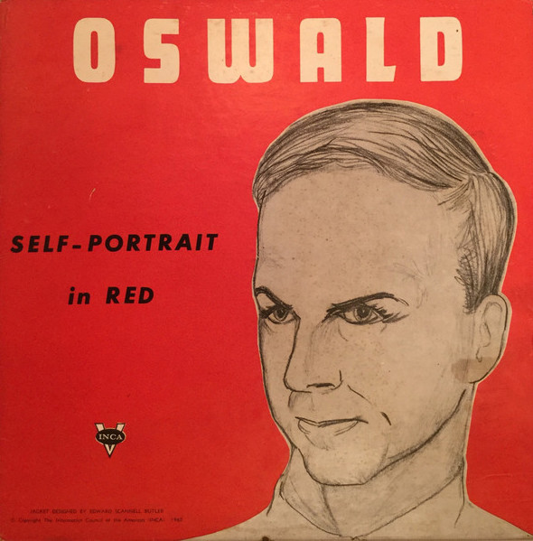 oswald self portrait in red album cover