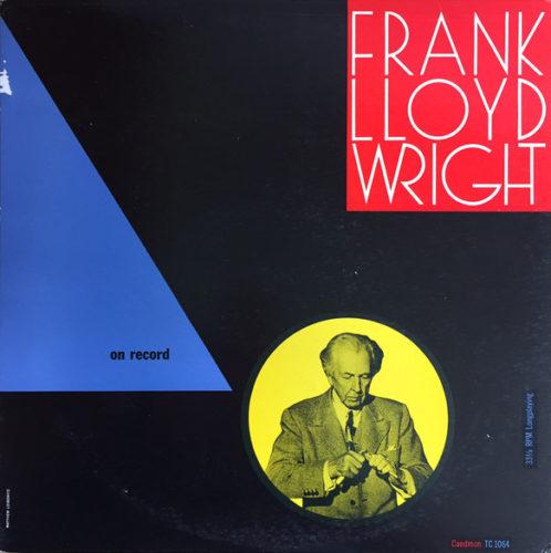 frank lloyd wright - on record album cover