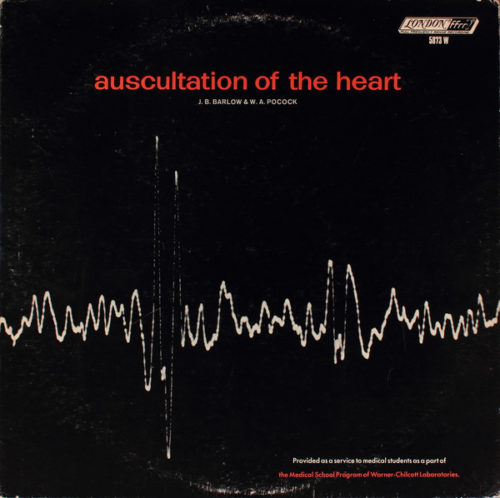 Ausculation of the heart album cover
