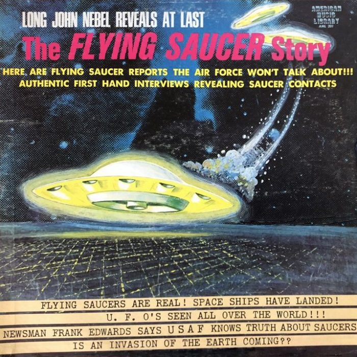 flying saucer story album cover